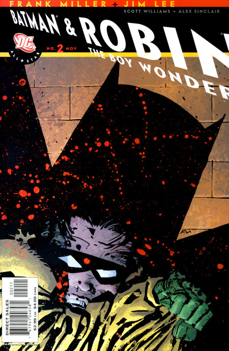 Cover Batman and Robin The Boy Wonder #2