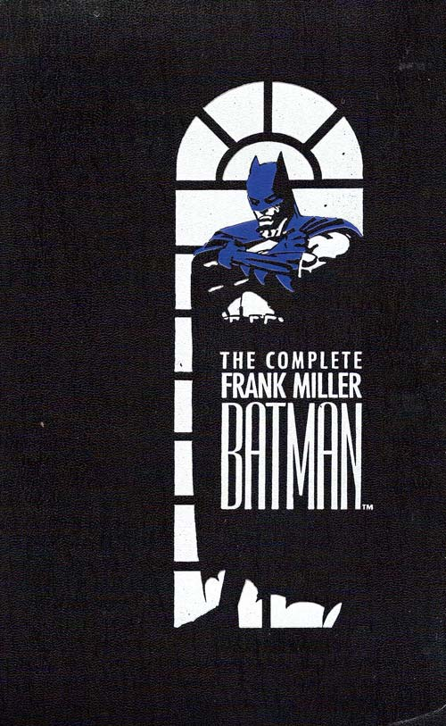Cover to The Complete FRANK MILLER Batman by Frank Miller