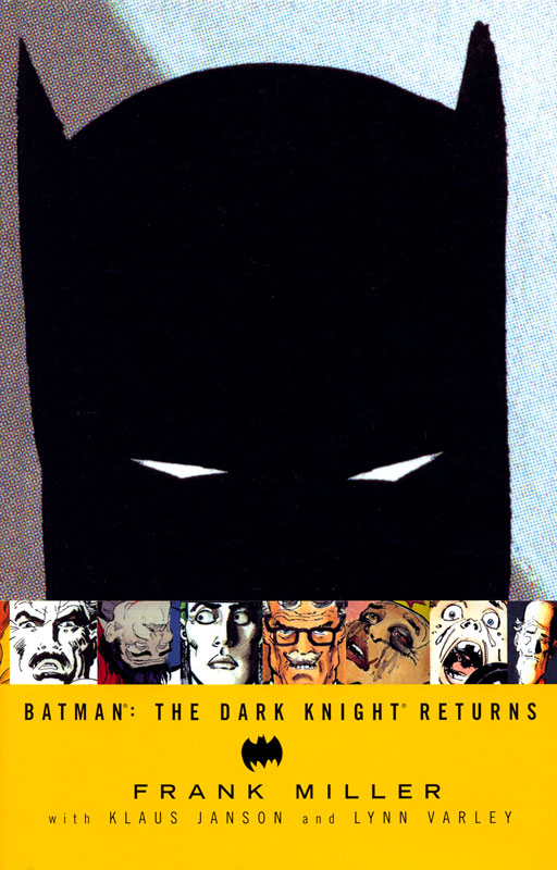 Cover to Batman The Dark Knight Returns Hardcover by Frank Miller