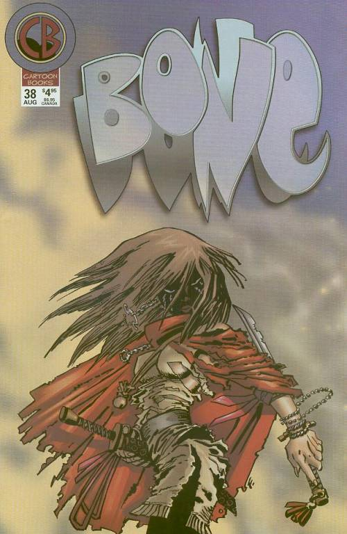 Cover to BONE #38 by Frank Miller
