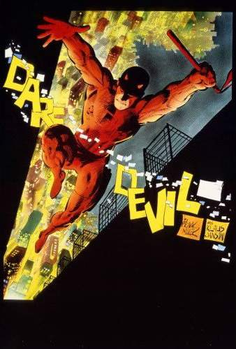 Cover to Daredevil Omnibus Hardcover by Frank Miller