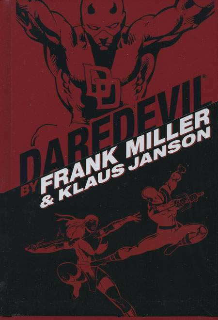 Cover to Daredevil Omnibus Companion Edition by Frank Miller