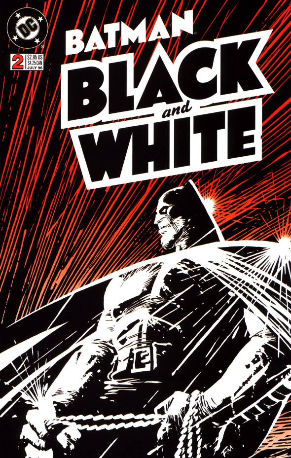Cover to Batman Black and White #2