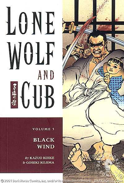 Cover to Lone Wolf and Cub #5 Dark Horse Comics version by Frank Miller