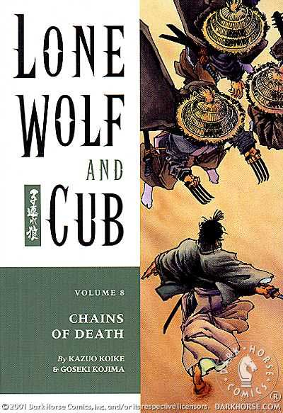 Cover to Lone Wolf and Cub #8 Dark Horse Comics version by Frank Miller