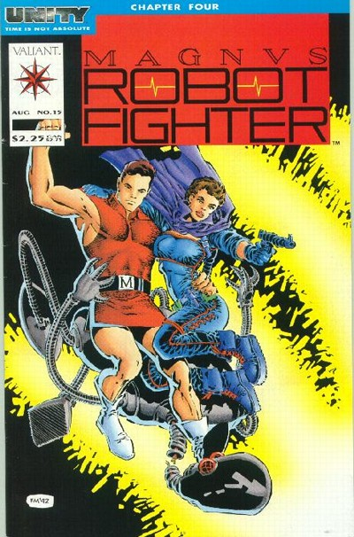 Cover to Magnvs Robot Fighter #15 by Frank Miller