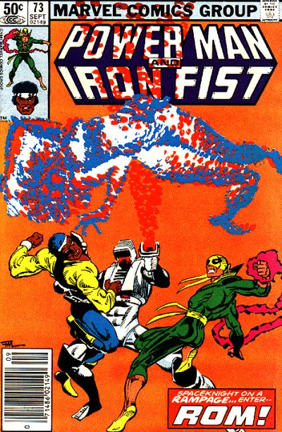 Cover to Power Man and Iron Fist #73 by Frank Miller