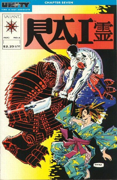 Cover to RAI #6 by Frank Miller