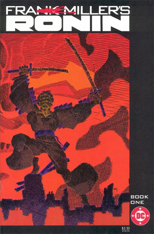 Cover to Frank Miller's Ronin Book One by Frank Miller