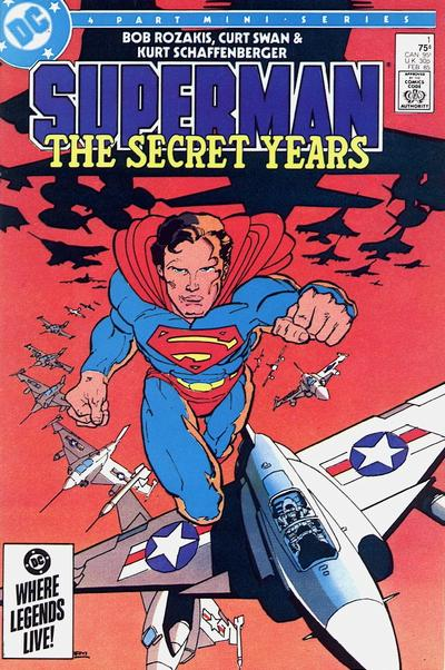 Cover to Superman The Secret Years #1 by Frank Miller