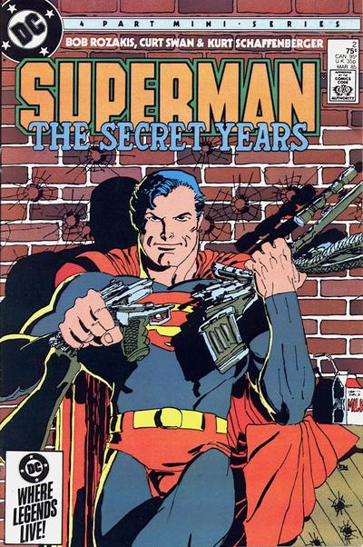 Cover to Superman The Secret Years #2 by Frank Miller