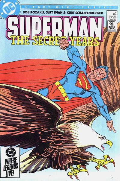 Cover to Superman The Secret Years #4 by Frank Miller