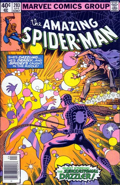 Cover to The Amazing Spider-Man #203 by Frank Miller