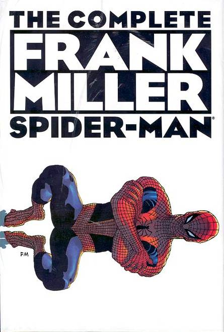 Cover to The Complete FRANK MILLER Spider-man by Frank Miller