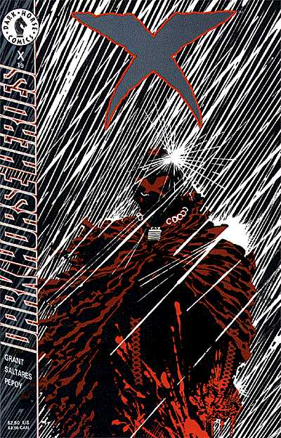 Cover to X #19 by Frank Miller