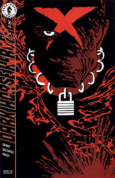 Cover to X #20  by Frank Miller