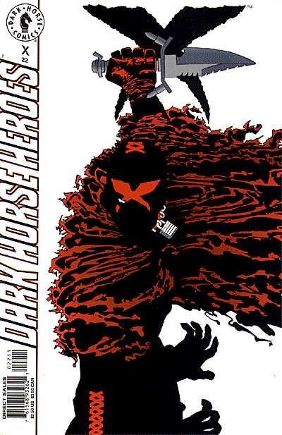 Cover to X #22 by Frank Miller