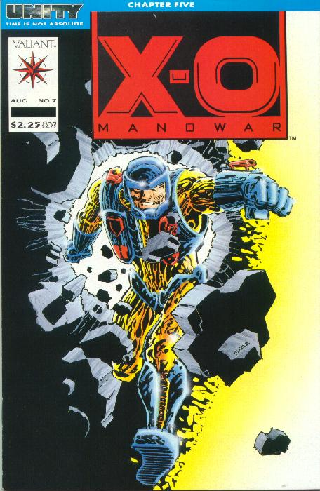 Cover to X-O #7 by Frank Miller